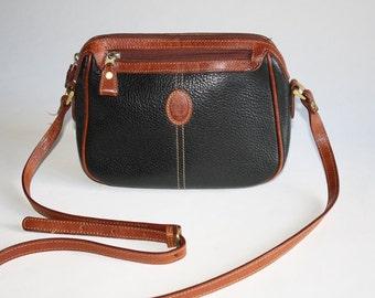 Liz Claiborne Leather Shoulder Handbag