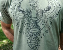 Alchemical Balance Tshirt in Green