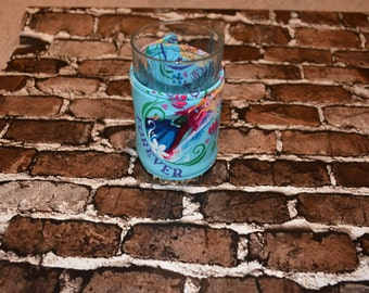 Frozen-Sisters Glass/Large Can Cozy