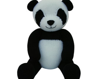 Panda - Knit a Teddy