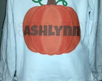 Girls Halloween Shirt, Orange Pumpkin Shirt, Pumpkin halloween Shirt,personalized pumpkin shirt,pumpkin patch shirt,girl pumpkin patch shirt