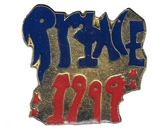 vintage PRINCE Purple Rain cloisonne pin badge button soul funk
