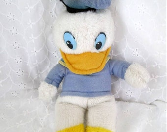 Vintage Knickerbocker Plush Donald Duck Blue Sailor Suit & Hat