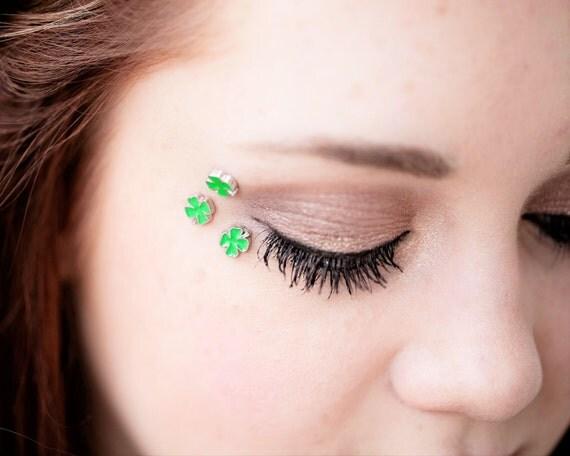 Four Leaf Clover Eye Decals