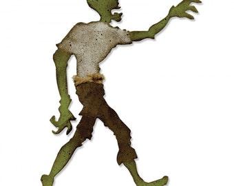 Tim Holtz Sizzix Bigz Die LOST ZOMBIE Walking Dead Halloween 661590