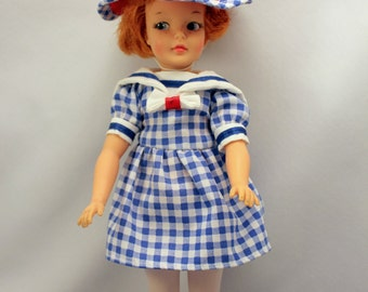 Tammy Pepper Doll Carrot Top by Ideal G 9 W 1960s Tammy Family