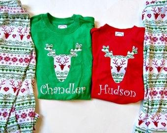 Christmas Pajamas Children Personalized Christmas Pjs Sibling Pajamas Family Pajamas Boys Pajamas Girls Pajamas Boy Leggings Girls Leggings