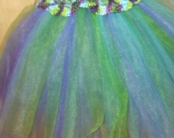 Fairy Ballerina Tulle Tutu Flower Girl Dress Photography Prop Wedding