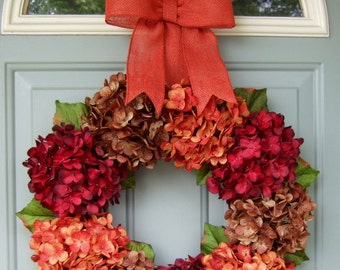Fall Wreath - Berry Wreath - Autumn Wreath