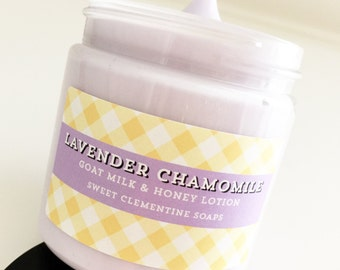 Lotion, Lavender Chamomile Hand Body Lotion Cream, Hand Cream, Body Cream, Body Lotion, Hand Lotion, Foot Lotion, Lavender Lotion
