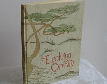 "Gwen Frostic Book ""The Evolving Omnity"" Signed First Edition Vintage 1981 Naturalist Woodlands Illustrated Inspirational"