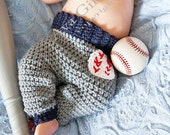 Crochet Baby Pants Pattern, Baby baseball pants pattern, Crochet Pattern, Billy Baseball Pants Crochet Pattern, Crochet Baby Pattern