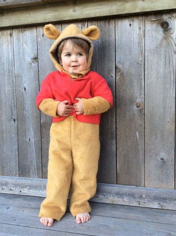 kids halloween costume winnie the pooh