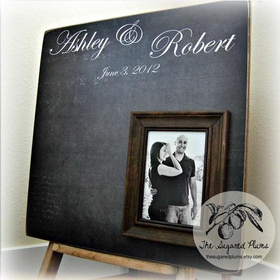 Wedding Guest Book Alternative Wedding Guest Book Wedding