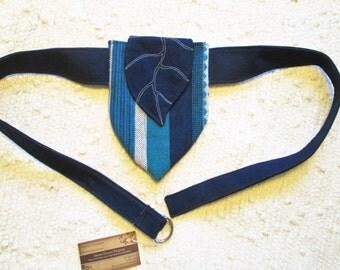 Elven Inspired Leaf Festival Utility Pocket Belt