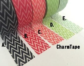 Chevron zigzag Washi Masking Tape Roll 15mm x 10m WT1007