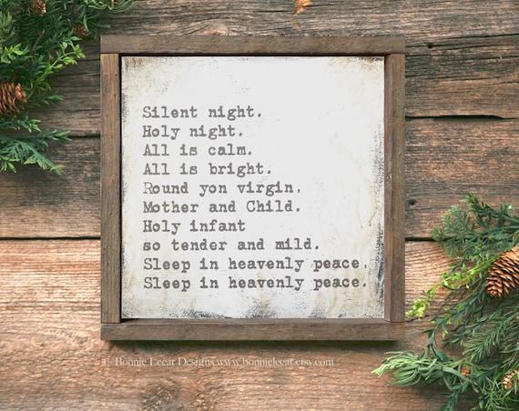 Silent Night, Holy Night Original Version - YouTube