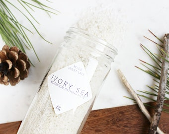 Gifts for Her | Bath Salts | Gifts for Moms | Natural Bath Salts | Vegan Bath Salts | Dead Sea Bathing Salts | Spa & Relaxation | Ivory Sea