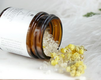 Meditation Crystals | Botanical Salts for Deep Breathing, Yoga and Relaxation | 100% natural and vegan