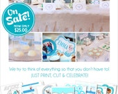 Frozen Birthday Party Decorations | Frozen Party Printable | Frozen Banner | Frozen Party Favor | Frozen Centerpiece | Amandas Parties To Go