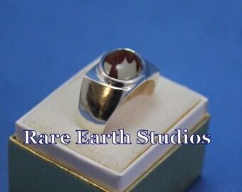 Men's Owyhee Jasper Sterling Ring Size 11.5, 60516115