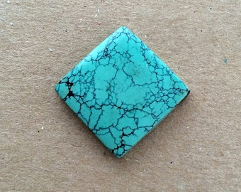 Chinese Turquoise Cabochon  Square