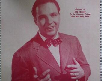 1943 A Fellow On A Furlough Bobby Worth Song Book Sheet Music