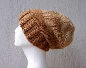 Mens hat Slouchy hat Ombre mens hat Mens winter beanie Crochet hat Men's Beanie Hat Men's Slouchy Beanie Hat for Men Handmade knit hat