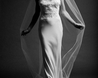 Bridal, Chapel, Veil, Wedding day, Illusion Tulle