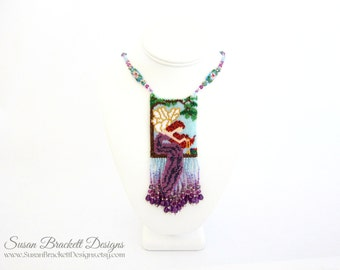 Beaded Necklaces Fairy Amulet Necklace Boho Style Jewelry Bohemian Women's Fashion Bead Woven  - CLEARANCE ITEM