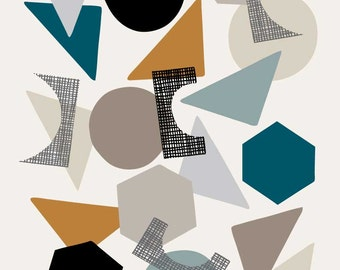 Scattered, open edition giclee print