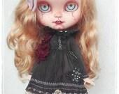 SUSPIRIA Victorian Ghostly Icy Doll like Blythe custom doll by Antique Shop Dolls