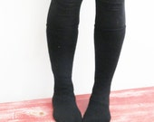 Women's slipper socks made from recycled wool sweaters sz 5/6