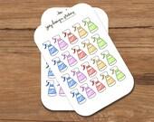 Planner stickers, CLEANING DAY reminder, accessories for your Erin Condren, Kikki K, Filofax, Kate Spade planner