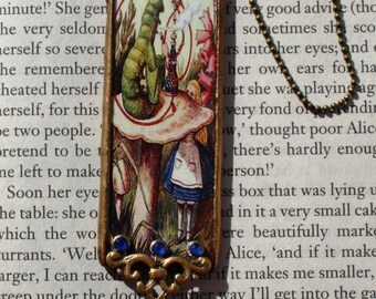 Glass Alice In Wonderland Hanging Decoration