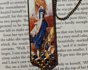 Glass Alice In Wonderland Hanging Decoration