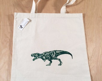 T-Rex Tote Bag Green