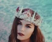 Dusk & The Moon || Mermaid Crown