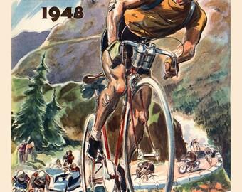 Le Tour De France 1948 Poster (#1100) 6 sizes