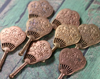 1 Vintage Pididdly Brass Fan Finding