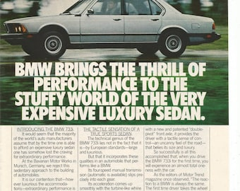Bmw advertisement etsy for Garage ad agde