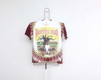 Grateful Dead Tie Dye T Shirt Mens Extra Small / Small Unisex Womens Tour Lot Tye Die Greatful Dancing Bear 90s 1994 Madison Square Garden