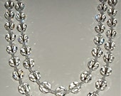SALE! Spectacular Non-AB Swarovski Crystal Necklace