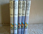 5 Bobbsey Twins books by Laura Lee Hope 1970's Collection Vintage   Lot B