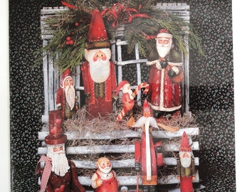 Santa Claus Sampler  Book 2  by Elaine Thompson   Decorative Painting Book