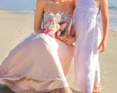 Mommy and Me outfits- Flower Girl Barefoot Sandals- Beach Wedding- Toddler Foot Jewelry- Footless Sandals- Barefoot Wedding Sandal- Sandles