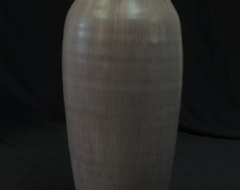 RETIRED Nob Hill Vase in Eggplant Last One