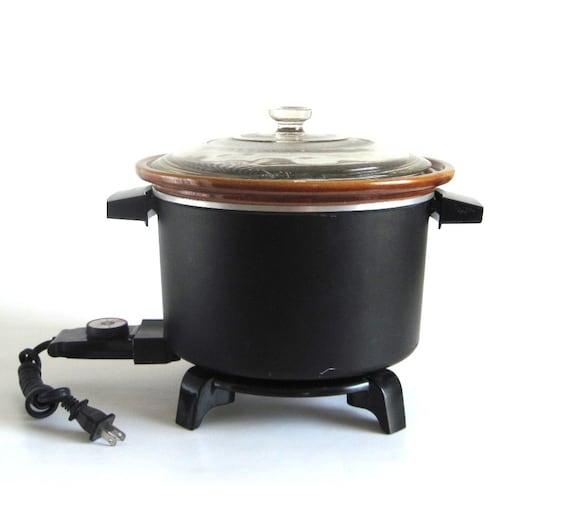Dazey Chef's Pot DCP6 Deep Fryer Slow Cooker (as-is)