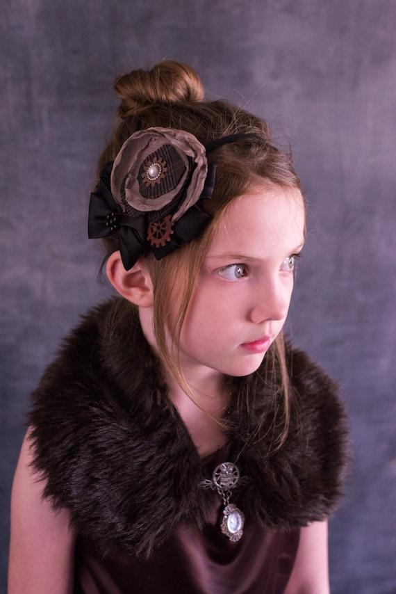 Steampunk Headband for Kids