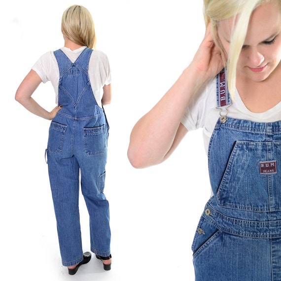 Bum Vintage Denim Bib Overalls 90 S Overalls With